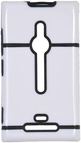 Iway Back Cover For Nokia Lumia 925 (Black)