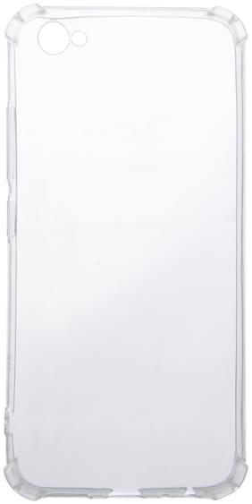 Vivo V5 Plus Silicone Bumper Case By Iway ( Transparent )