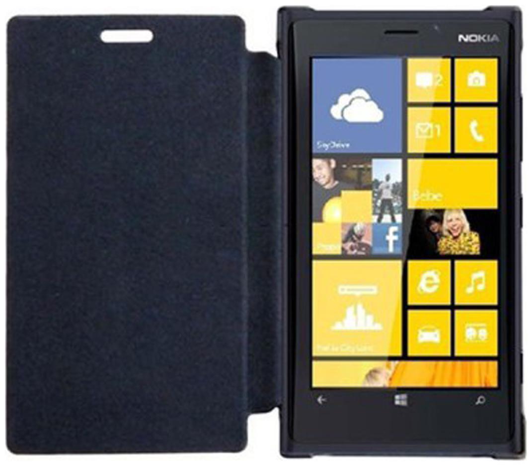 Iway Flip Cover For Nokia Lumia 925  Black