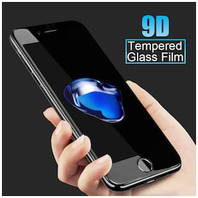 JABOX Edge To Edge Tempered Glass & Tempered Glass For Apple Iphone 7 Plus