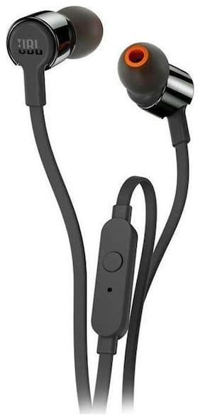 JBL T210 In-Ear Wired Headphone ( Black )
