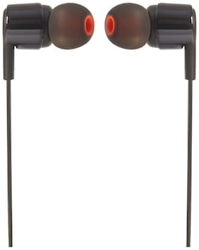 JBL T210 In-ear Wired Headphone ( Black )