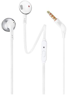 JBL T205 In-Ear Wired Headphone ( Silver )