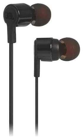 JBL JBL TUNE 210 EARPHONE In-Ear Wired Headphone ( Black )
