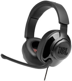 JBL Quantum 300 Over-Ear Wired Headphone ( Black )