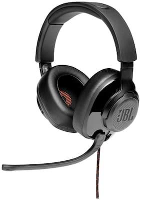 JBL Quantum 200 Over-Ear Wired Headphone ( Black )
