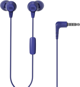 JBL T50hi In-Ear Wired Headphone ( Blue )
