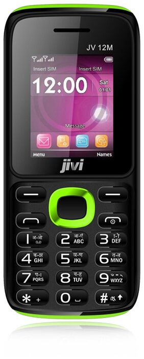 Jivi JV 12M (Black & Green)