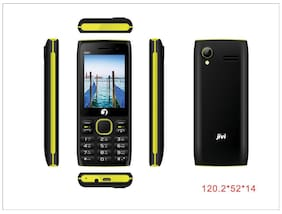 Jivi N201 (Black & Yellow)