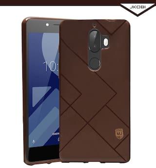 best service 8e0e4 4e5b9 Buy Jkobi Soft Textured Rubberised Back Case Cover For Tenor E 10.or ...