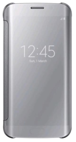 check out 82a28 3296b JKR Flip Cover For Samsung Galaxy A5(2016) (Silver)