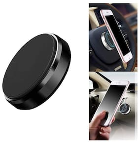 JMO27Deals High Power Magnet Universal Car Phone Holder Aluminum Alloy Magnetic Plate Mount Multi Use Key Stand, Remote Holder, Mobile Holder, Mobile Charging Stand