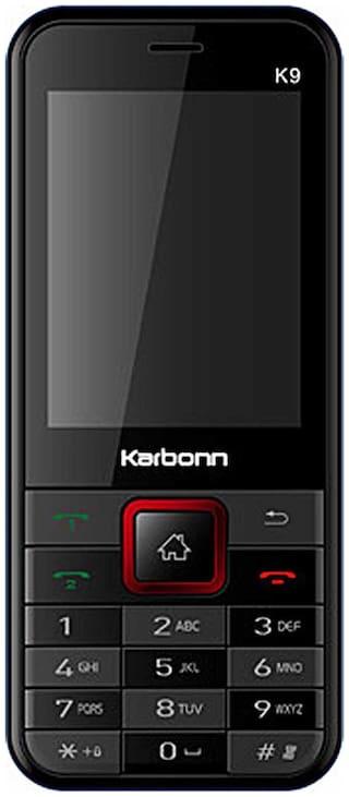 Karbonn Jumbo K9 (Black & Red)