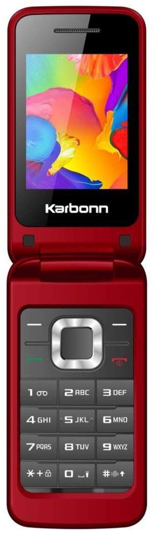 Karbonn K-Flip Red