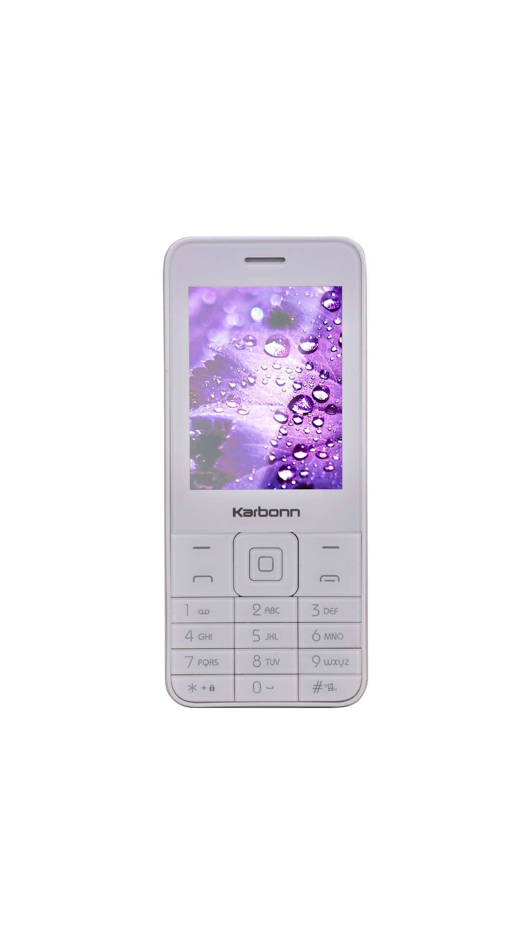 Karbonn K-Phone 1 (White And Silver)