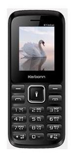 Karbonn K1 Indian Dual SIM Feature Phone (Black-Red)