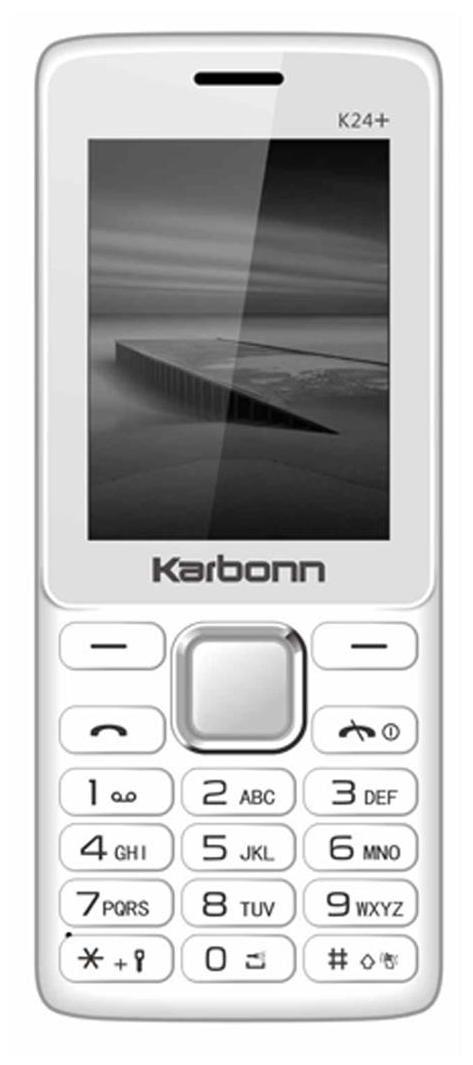 Karbonn K24 Plus (White)