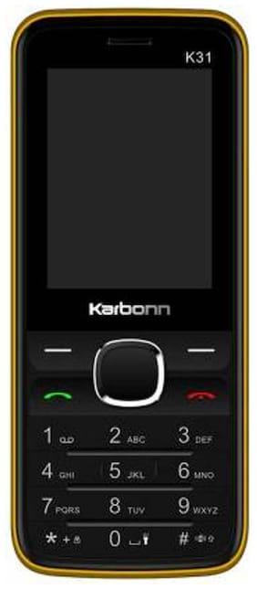 Karbonn K31 (Black,Yellow)