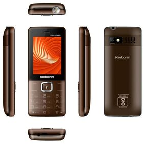 Karbonn K451 Power  (Coffee Black)