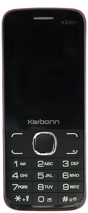 Karbonn K490+ Black Red