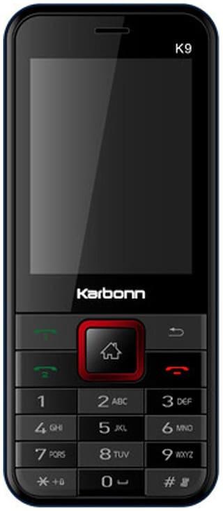 Karbonn K9 (Black & Red)