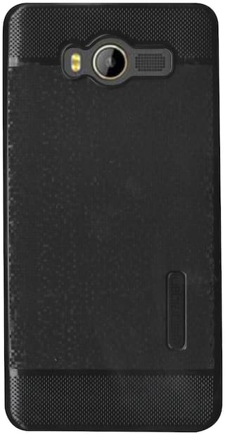 new product 6f5fc 4de83 karbonn k9 smart Yuva Back Cover (Black)