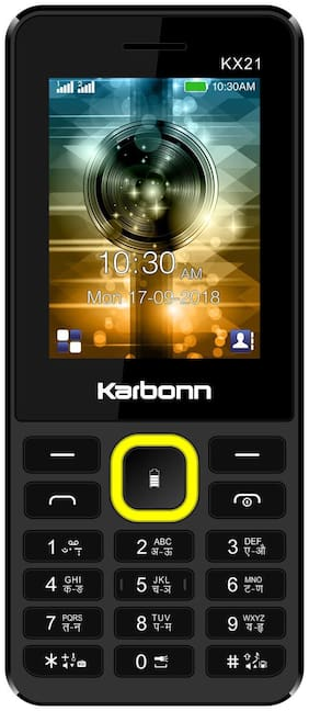 Karbonn KX 21 Black;Yellow