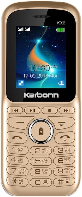 Karbonn KX 2 Gold;Black