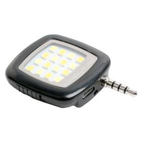 MODIK_16 LED SELFIE LIGHT Flash  (Black)