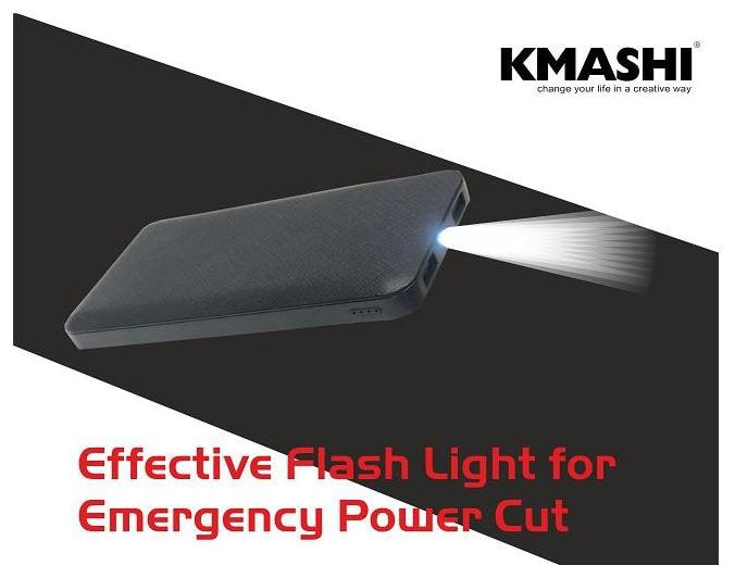 Kmashi K MPO110 10000 mAh Power Bank   Black