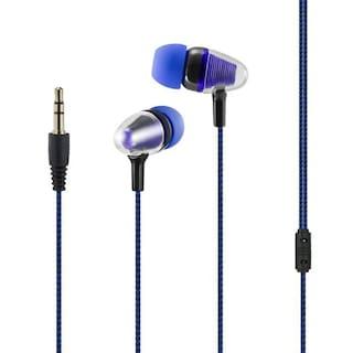 KONARRK Disco In-Ear Wired Headphone ( Blue & Black )