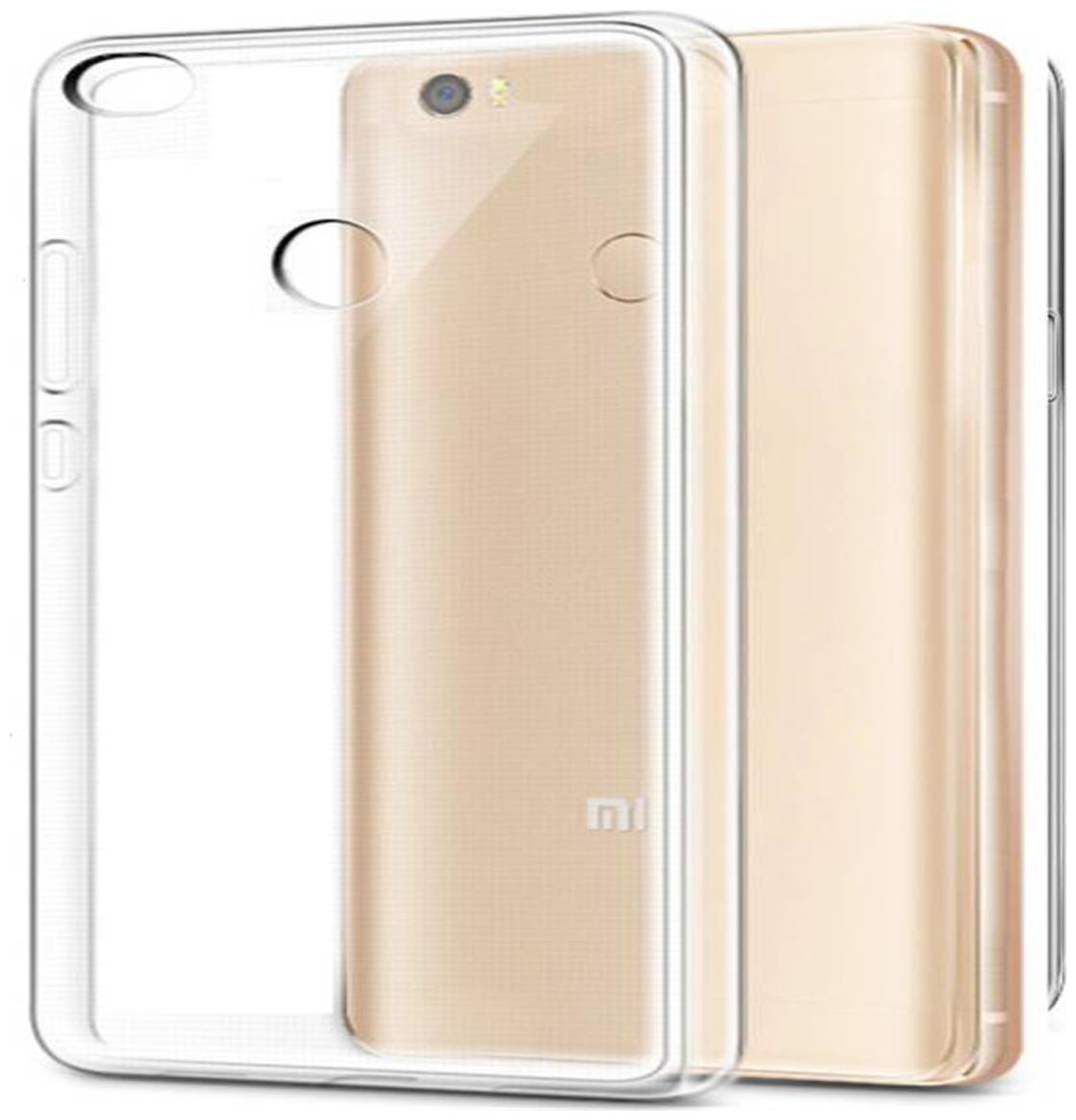 Koolbug Silicone Back Cover For Mi Redmi 3S Prime   Transparent   by Value Solution