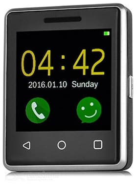 L'Exotique MTK250201-01 Feature Phone (Silver & Black)