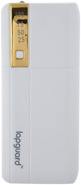 Lapaguard LG515_13K 13000mAH Lithium-ion Power Bank (White-Gold)