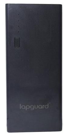 Lapguard LG514 Power Bank 10400 mAh Make In India portable Charger powerbank - Black