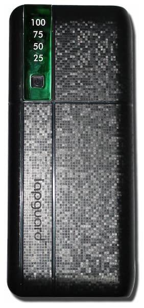 Lapguard LG515_10.4K 10400mAH Lithium-ion Power Bank (Black-Green)