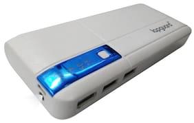 Lapaguard LG515_13K 13000mAH Lithium-ion Power Bank (White-Blue)