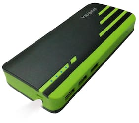 Lapguard 13000 mAh Power Bank - Black & Green