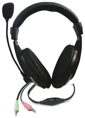 NDP On-Ear Wired Headphone ( Black )