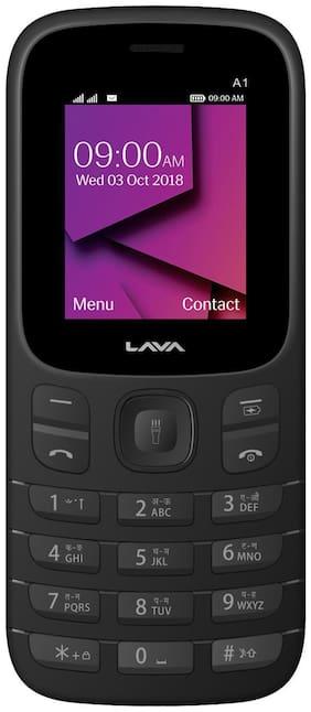 Lava A1 Dual Sim(Black)