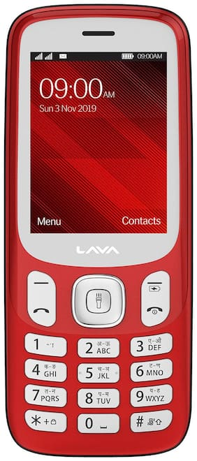 Lava A7 Red