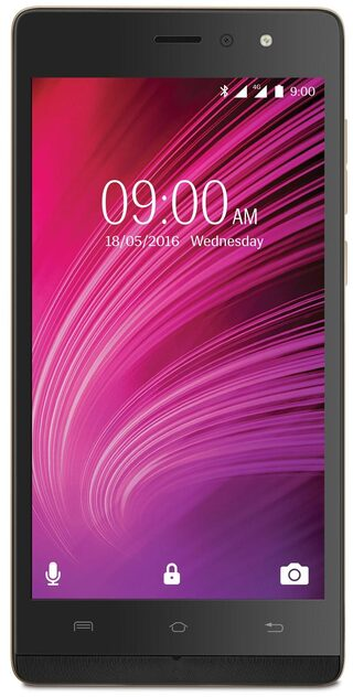 Lava A97 8 GB Black Gold (1 GB RAM) 4G with VoLTE