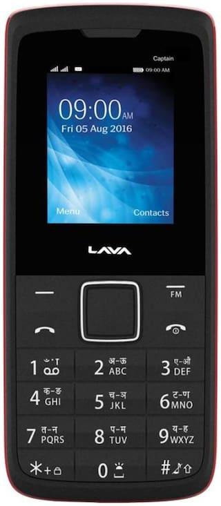 Buy Lava Captain K1 Plus Black Red Dual Sim Phone Online @ Best