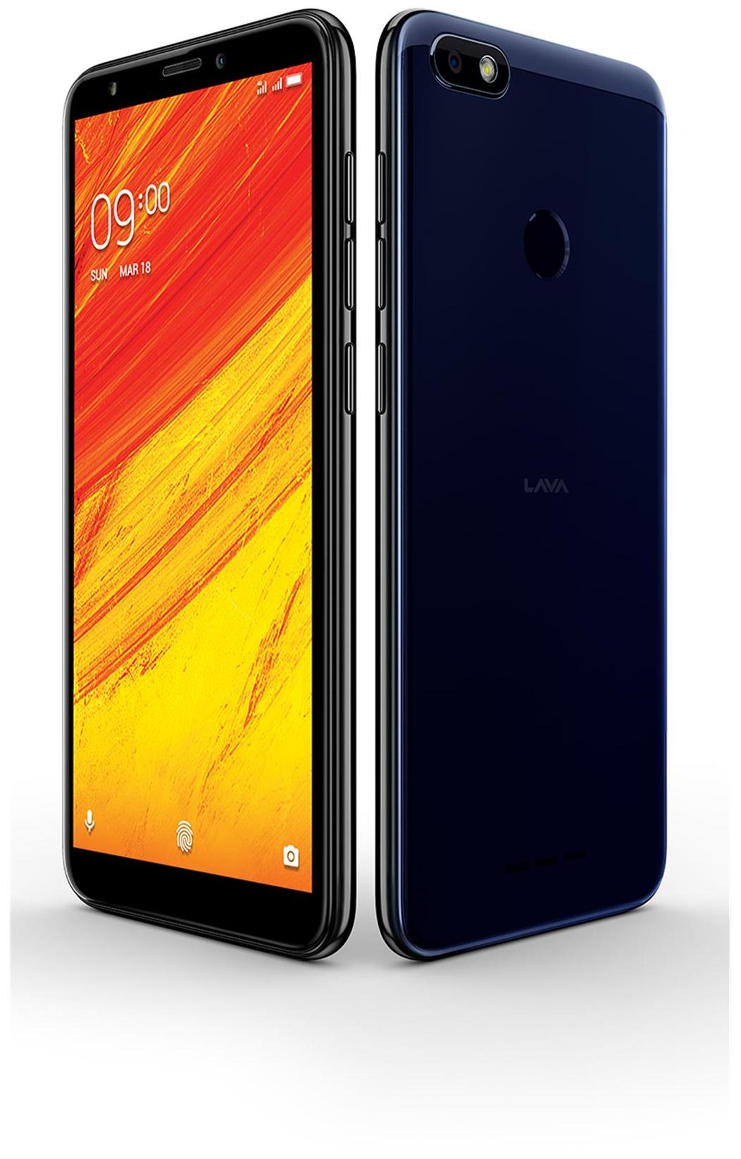 Lava Z91 32 GB (Blue)