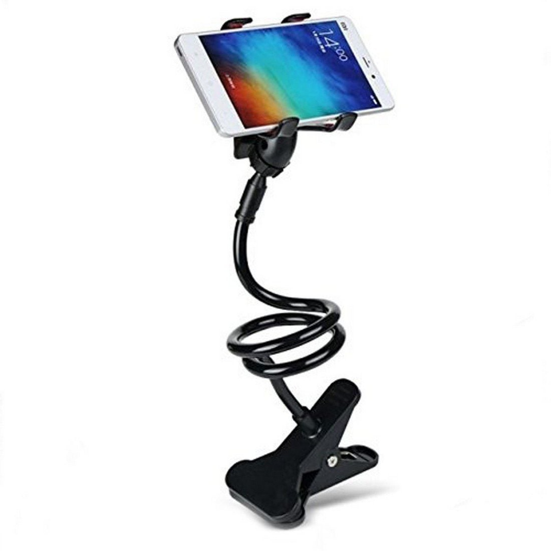 Captcha Unique Flexible 360 degree Snake Style With Long Lazy Foldable Mobile Holder Stand Compatible With All SmartPhones by Mac Traders