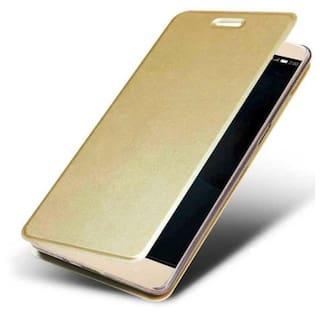 cheap for discount ec393 a5f18 Lenovo K6 Power Flip Cover By Coberta - Gold