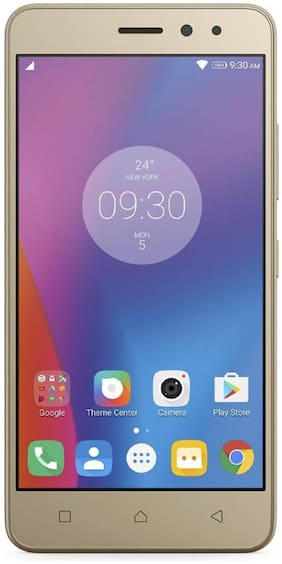 Lenovo K6 Power 32 GB (Gold,3 GB RAM)