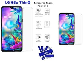 LG G8x ThinQ Tempered Glass (Pack of 2)