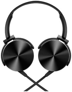 Libel HF-101 Over-Ear Wired Headphone ( Black )