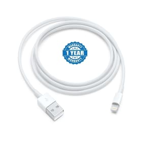 Lightning Usb Charging Data Cable For Iphone 5 5S 5C 6 6S 6+ 6S+7 7+ 8 Ipad Air/Mini Ipod Nano And Ipod Touch (White)